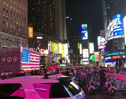 A Brief Manhattan Tour with Gimbal #ShotOniPhone