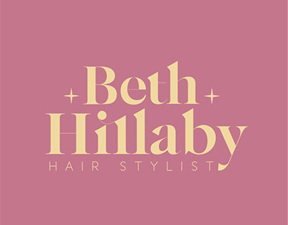 Rebrand for Beth Hillaby Hairstylist