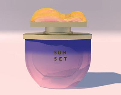 SUNSET, proyecto de un perfume