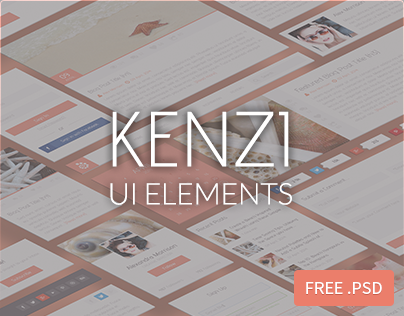 FREEBIE : Kenzi UI Elements
