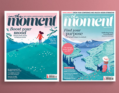 In The Moment Magazine Covers