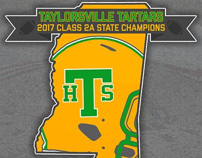 Taylorsville Tartars 2017 2A Football State Champions
