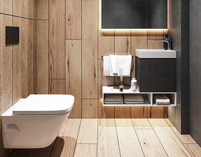 bathroom loft in style