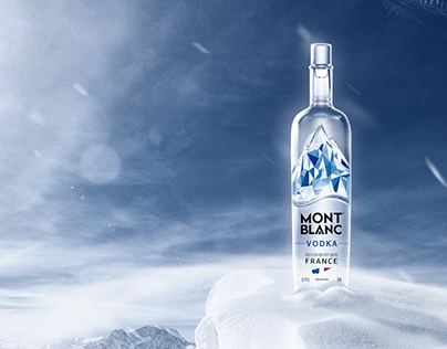 Mont Blanc Vodka