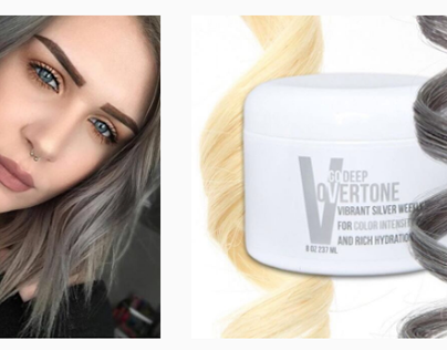 Social Media • Instagram: oVertone Hair Care