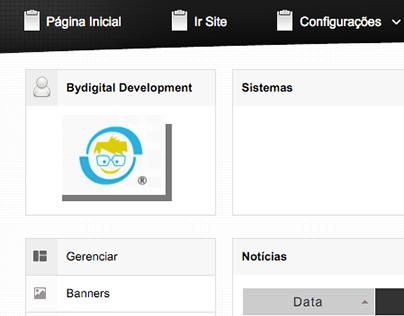 Website management system.