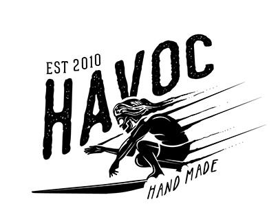 HAVOC t-shirt graphics