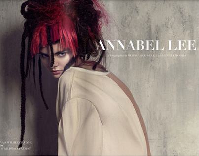 Annabel Lee editorial for Alice Magazine