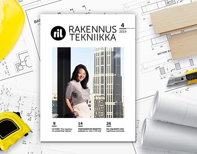 Rakennustekniikka magazine
