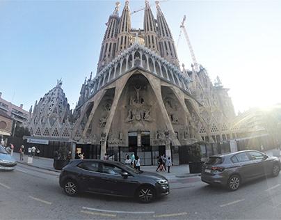 The Sagrada Familia , Barcelona