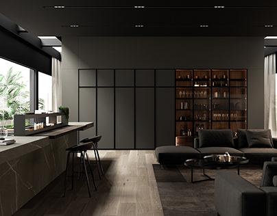 Interior concept house