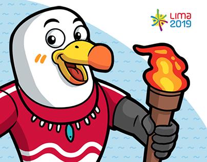 Propuesta mascota Lima 2019