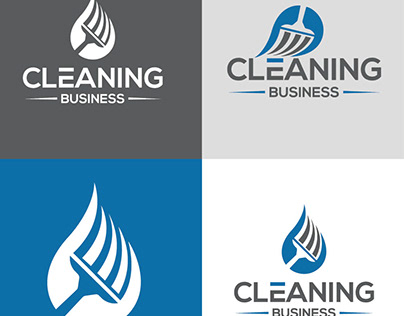 cleaning-business-logo-design