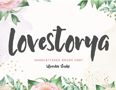 Free Font | Love Storya