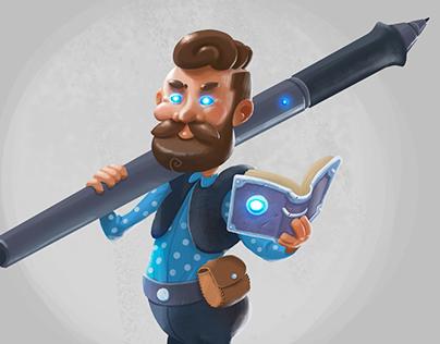 Digital Painter - Game Character