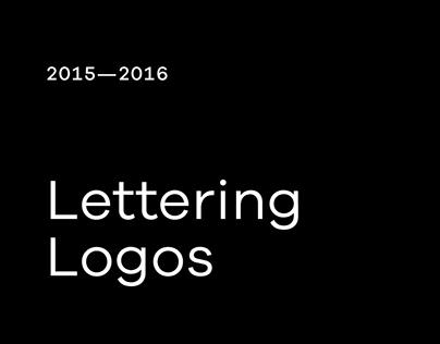 Lettering logos  2015—2016