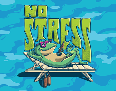 Beer Label | No Stress APA