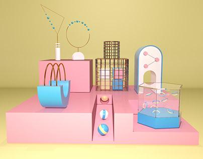 3D Composition