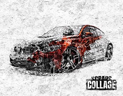 Scraps Collage Photoshop Action