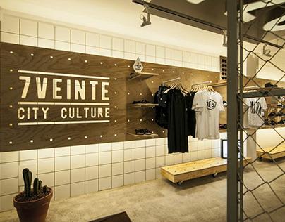CLOTHES STORE | Sieteveinte