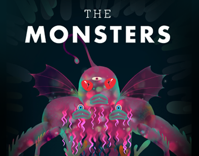 The Monsters | Tinybop × Tianhua Mao