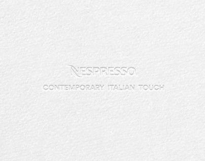 Nespresso - Contemporary Italian Touch