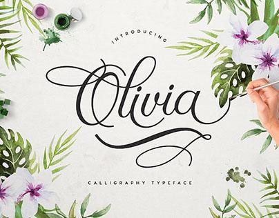 FREE Olivia Script Font