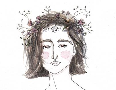 Wildflowers - Illustration