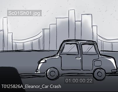Car Crash Storyboard