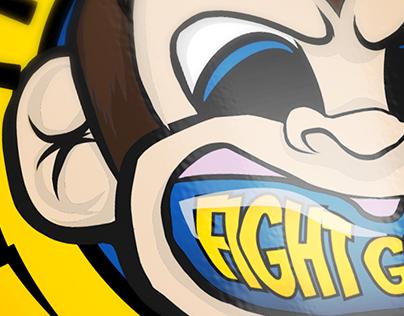 Fight Grillz Logo design