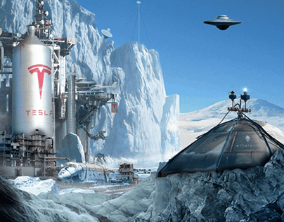 Tesla Salvage Facility - Limited-Edition NFT