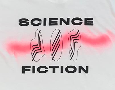 Science Fiction Martian Press Tee