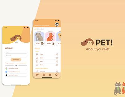 UI Design - PET!