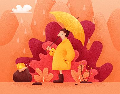 Autumn meeting   Illustration