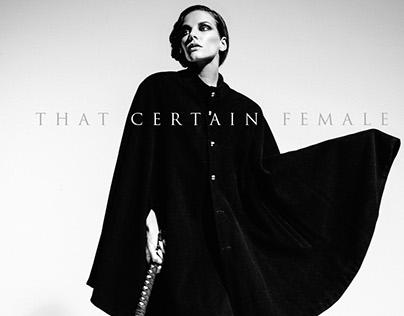 That Certain Female