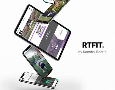 RTFIT #Branding #WebDesign