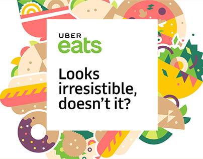UBER Eats - 2017 Paid Media Re-Branding