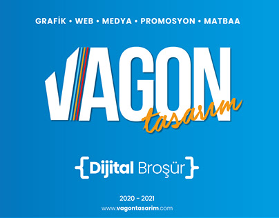 Vagon Tasarım (Dijital Broşür) 2020 - 2021