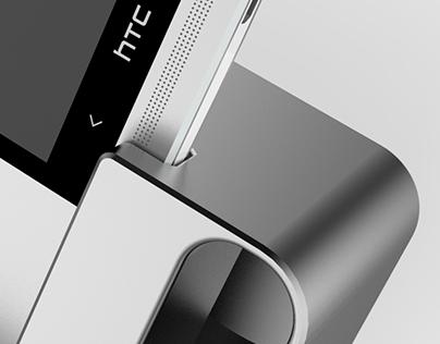 HTC One M7 Bass Dock