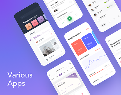 Various Mobile Apps