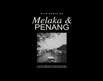 35MM Film Photography - Melaka & Penang