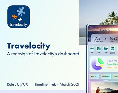 Travelocity Dashboard Redesign