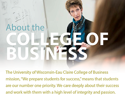 About the UW-Eau Claire College of Business