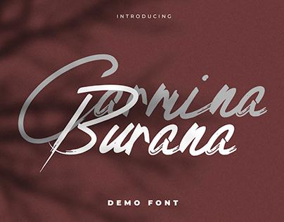 FREE - Grunge Brush Font