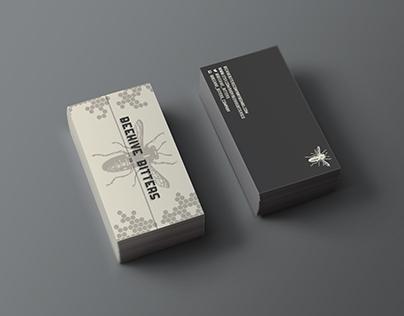 Beehive Bitters Branding