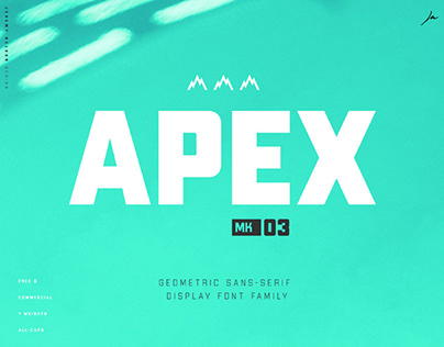 APEX MK3 - FREE ROBUST DISPLAY TYPEFACE