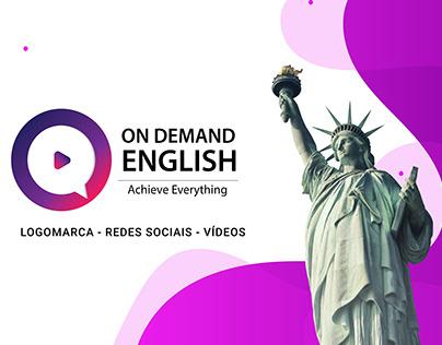 Escola Inglês: Marca - Redes Social - Vídeos