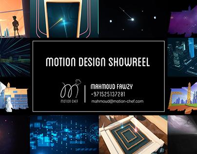 Motion Design Showreel 17/18