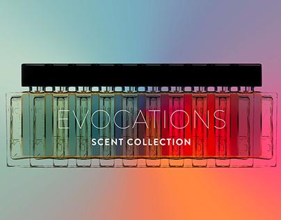 Nouvelle collection Evocations de Lubin parfumeur