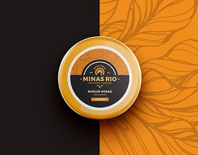 Minas Rio - Logo / Cheese Packaging / Branding